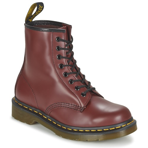 Dr Martens BOOTS 1460 CHOCOLAT - Chaussures Boot Femme