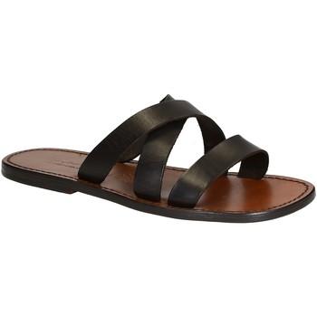 Chaussures Homme Mules Gianluca - L'artigiano Del Cuoio 546 U MORO CUOIO Testa di Moro