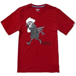 Vêtements Homme T-shirts manches courtes adidas Originals Chicken Mascot Rouge
