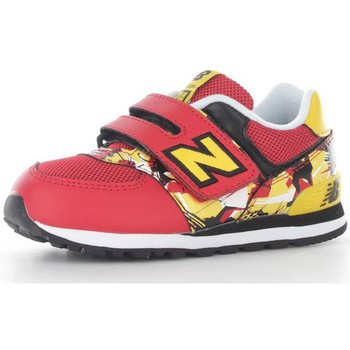Chaussures Enfant Baskets basses New Balance KG574TOI Chaussures de sport Garçon Red/Yellow Red/Yellow