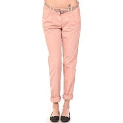 Vêtements Femme Pantalons Tom Tailor Pantalon Ceinture saumon Orange