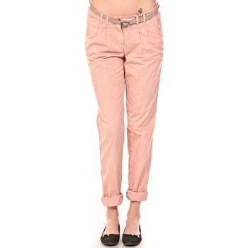 Pantalon Tom Tailor Pantalon Ceinture saumon