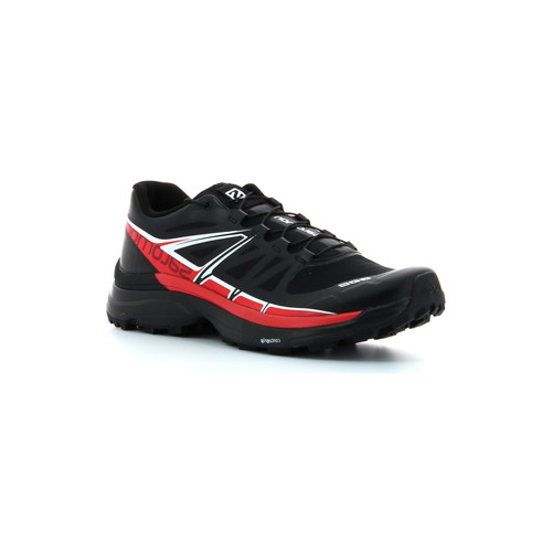 Chaussures Homme Running / trail Salomon S-LAB Wings SoftGround Black / Racing Red