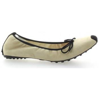 Chaussures Femme Ballerines / babies Elizabeth Stuart Ballerines cuir velours  /sable Noir/sable