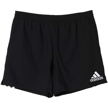 Vêtements Homme Shorts / Bermudas adidas Performance 3 Stripes Short Noir