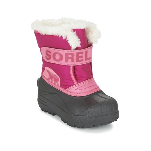 Bottes Sorel CHILDRENS SNOW COMMANDER Rose 350x350