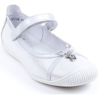 Chaussures Fille Ballerines / babies Little Mary Ballerines argent MONIQUE - argent