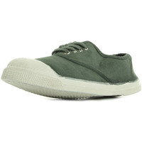 Chaussures Fille Baskets mode Bensimon Ten Lacet Enf Kaki vert