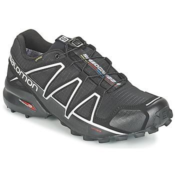 Chaussures-de-running Salomon SPEEDCROSS 4 GTX® Noir / Argent 350x350