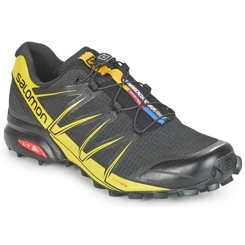 Chaussures Homme Running / trail Salomon SPEEDCROSS PRO Noir / Jaune