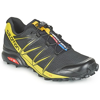 Chaussures-de-running Salomon SPEEDCROSS PRO Noir / Jaune 350x350