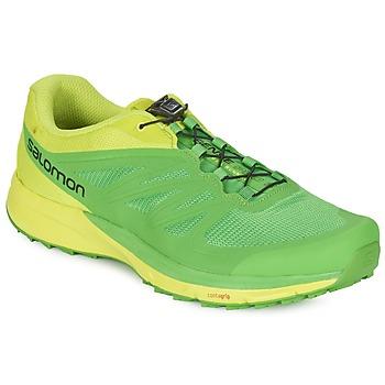 Chaussures-de-running Salomon SENSE PRO 2 Vert / Noir 350x350