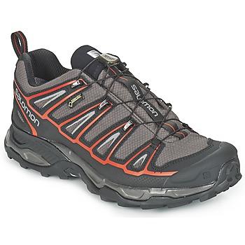Chaussures-de-randonnee Salomon X ULTRA 2 GTX® Gris / Noir / Rouge 350x350