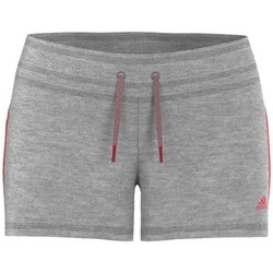 Vêtements Femme Shorts / Bermudas adidas Performance Essential 3S Short Gris