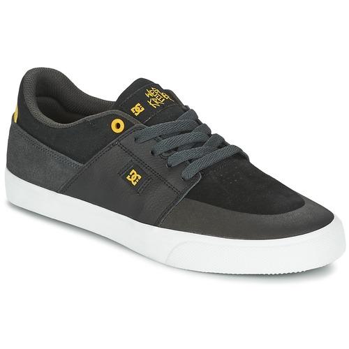 DC Shoes WES KREMER Noir / Gris / Jaune llwudz9M9m
