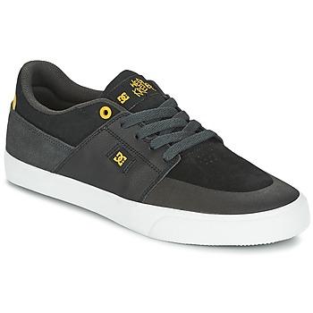 Baskets mode DC Shoes WES KREMER Noir / Gris / Jaune 350x350
