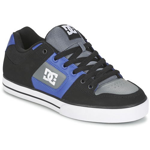 Skate DC Shoes PURE Noir / Bleu / Gris 350x350