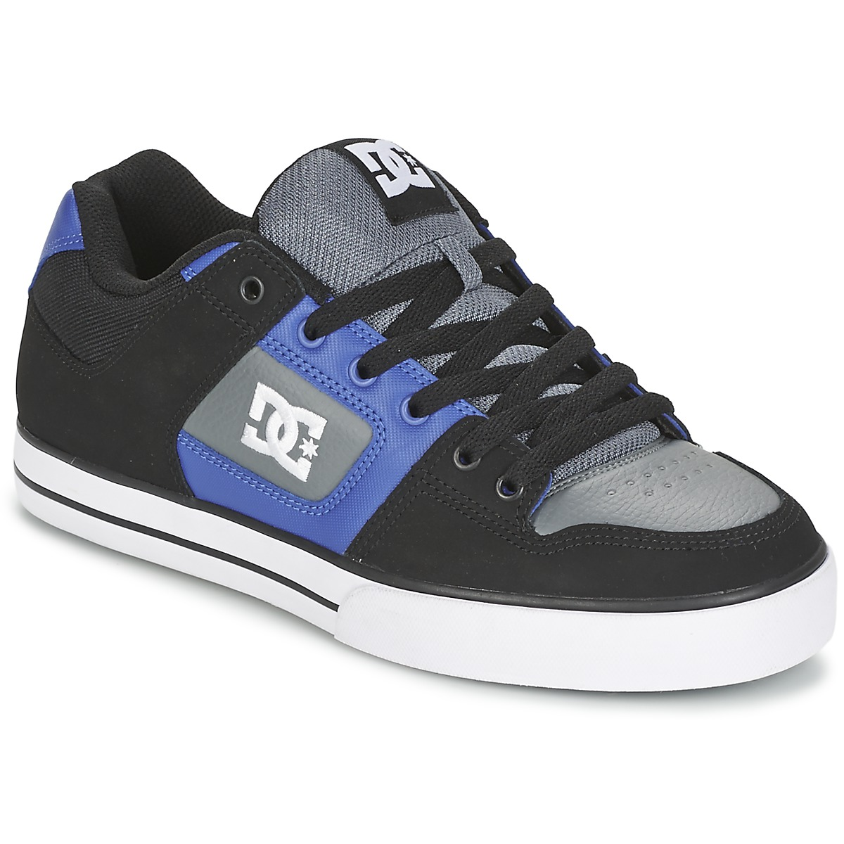 DC Shoes PURE Noir / Bleu / Gris