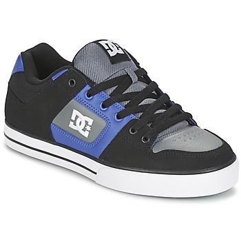 Skate DC Shoes PURE Noir / Bleu / Gris 350x350