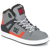 Chaussures Enfant Baskets montantes DC Shoes REBOUND WNT B SHOE XSKN Gris / Noir / Orange