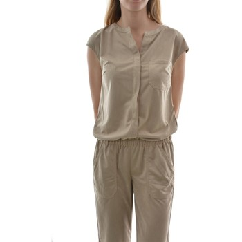 Vêtements Femme Combinaisons / Salopettes Street One filia,fake-suede jumpsuit beige