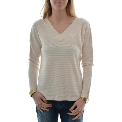 Vêtements Femme Pulls Only onltessa l/s long v-neck pullover knt rose