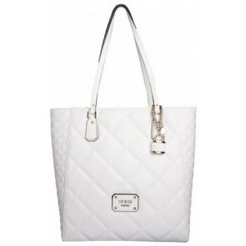 Sacs Femme Cabas / Sacs shopping Guess Sac  Ophelia N/S Tote White Blanc