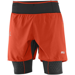 Vêtements Homme Shorts / Bermudas Salomon S-LAB EXO TWINSKIN SHORT M Rouge