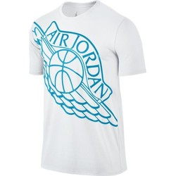 Vêtements Homme T-shirts manches courtes Nike Wingspan Tee White