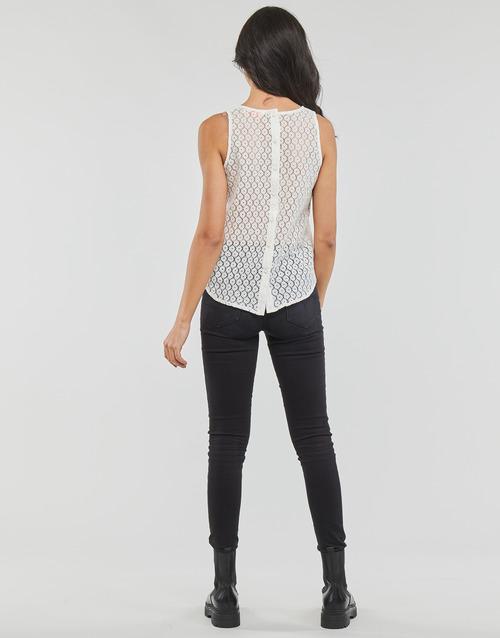 IGUOHIAVINE  Moony Mood  débardeurs / t-shirts sans manche  femme  blanc
