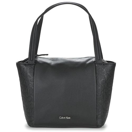 Cabas / Sacs shopping Calvin Klein Jeans MISHA MEDIUM TOTE Noir 350x350