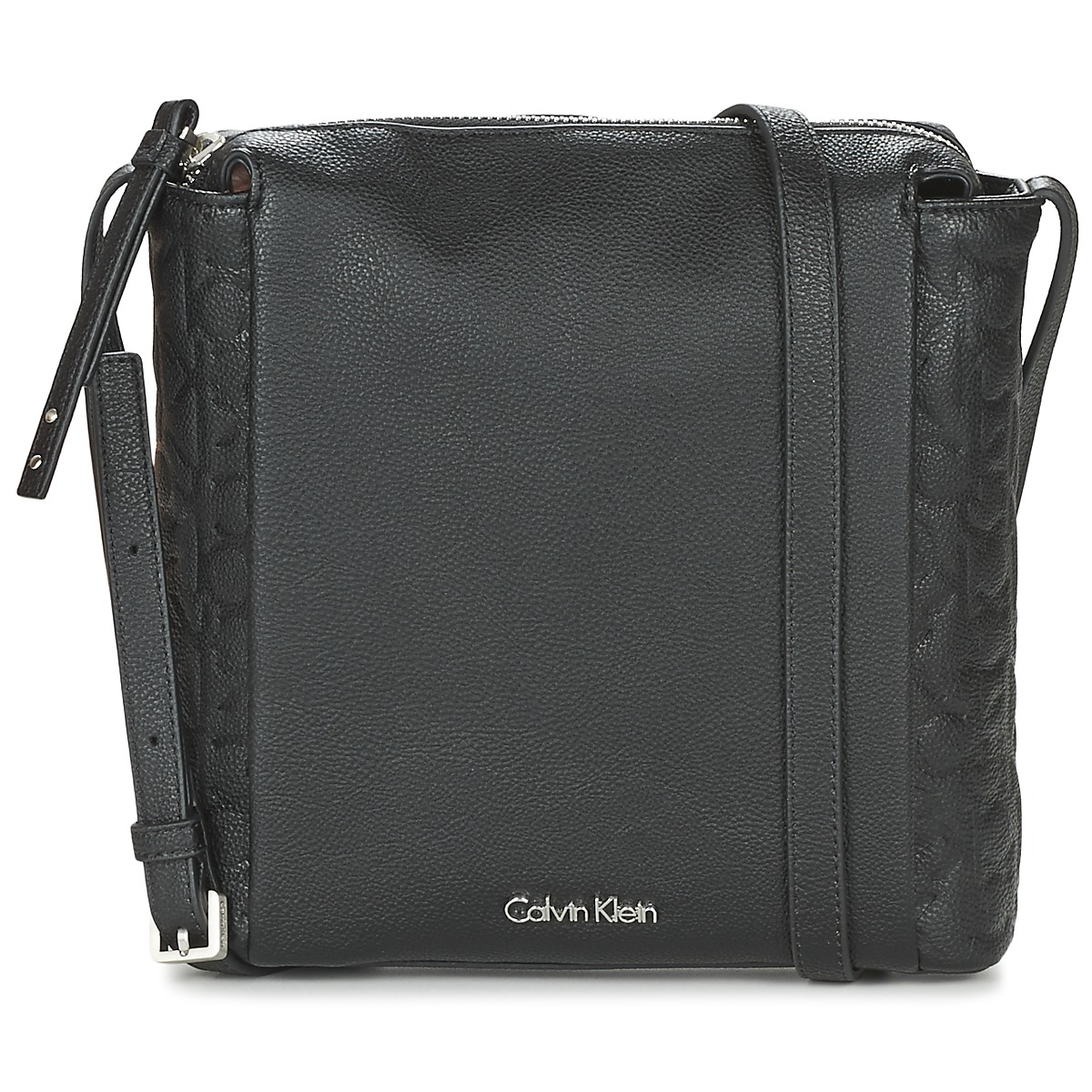 Calvin Klein Jeans MISHA FLAT CROSSBODY Noir