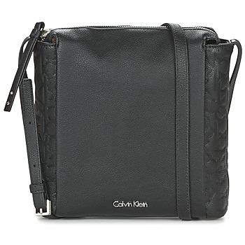 Besaces / Sacs bandoulière Calvin Klein Jeans MISHA FLAT CROSSBODY Noir 350x350