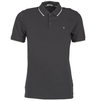 T-shirts & Polos Calvin Klein Jeans PARK TIPPING Noir 350x350