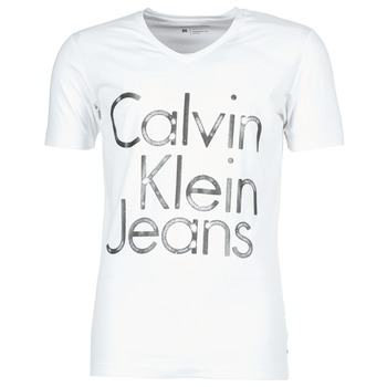 T-shirts & Polos Calvin Klein Jeans TEMPEST VN SLIM FIT Blanc 350x350