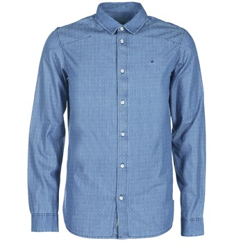 Chemises Calvin Klein Jeans WINLEY Bleu 350x350