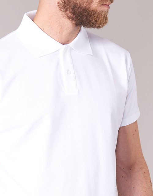 Botd Manches Polos Homme Courtes Blanc Epolaro RL54jq3A