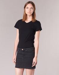 Vêtements Femme T-shirts manches courtes BOTD EFLOMU Noir
