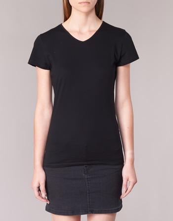 T Manches Vêtements shirts Courtes Femme Noir Botd Eflomu zGSMpqUV