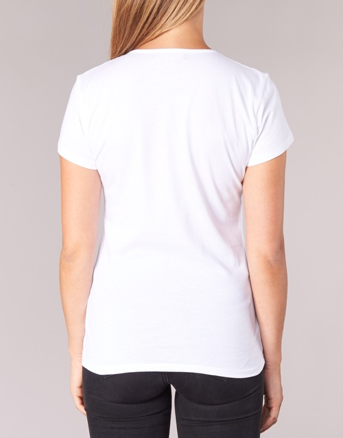 EFLOMU  BOTD  t-shirts manches courtes  femme  blanc