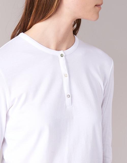 T Ebiscol Botd shirts Blanc Manches Longues Femme 453jLAR