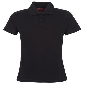 Vêtements Femme Polos manches courtes BOTD ECLOVERA Noir