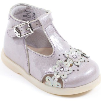 Chaussons bébés Little Mary - Babies/Bottillons PASTEL rose