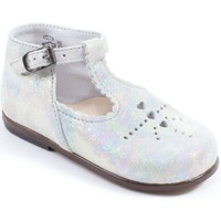 Chaussures Fille Ballerines / babies Little Mary Babies  Fille argent FLORIANE argent