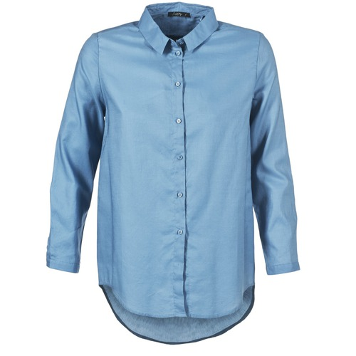 Vêtements Femme Chemises / Chemisiers School Rag CHELSY Bleu