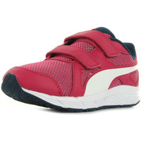 Chaussures Fille Running / trail Puma Axis v4 Mesh V Kids rose