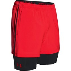 Vêtements Homme Shorts / Bermudas Under Armour Mirage 2in1 Short Rocket Red