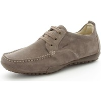 Chaussures Homme Baskets basses Geox U2202N0022 Chaussures de ville Homme Taupe Taupe