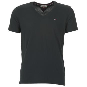 Vêtements Homme T-shirts manches courtes Hilfiger Denim MALATO Noir