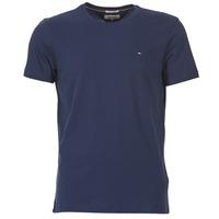 Vêtements Homme T-shirts manches courtes Hilfiger Denim OFLEKI Marine